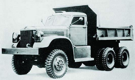 1942 Diamond Т-972, 6x6
