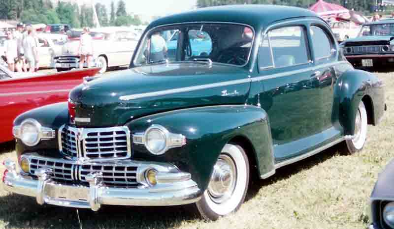 1942 Lincoln Club Coupe
