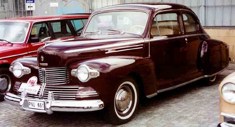 1942 Lincoln Zephyr Club Coupé