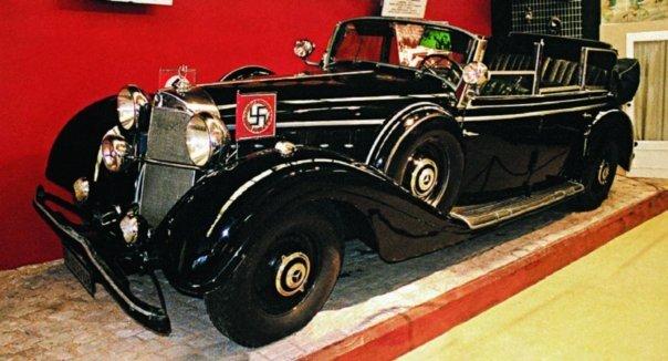 1942 Mercedes-Benz-770К (W150II), 1942 г.Hitler's car