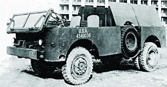 1942 REO LS60F, 4x4
