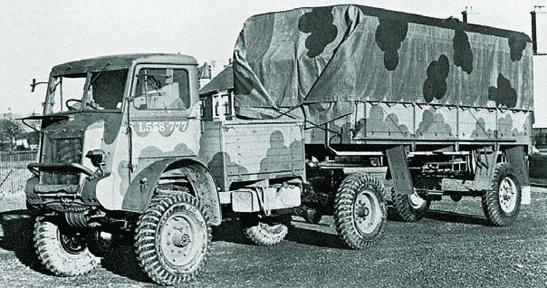 1943 Bedford QLC, 4x4