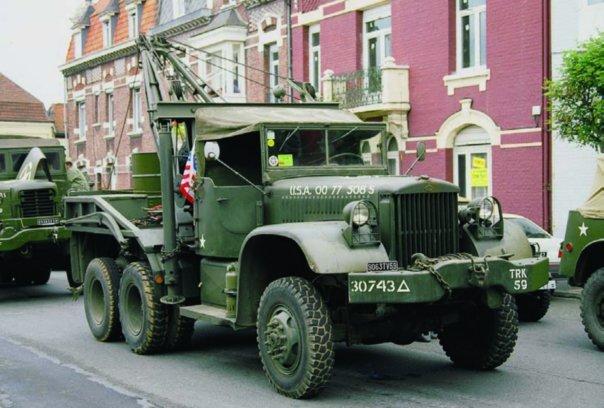1943 Diamond Т-969А, 6x6