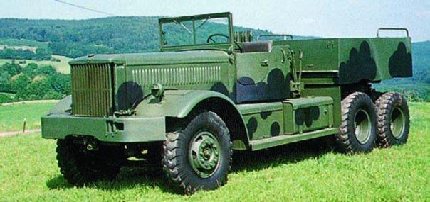 1943 Diamond Т-981 (М20), 6x6
