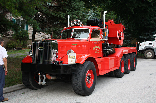 1943 Diamond T 981 Wrecker