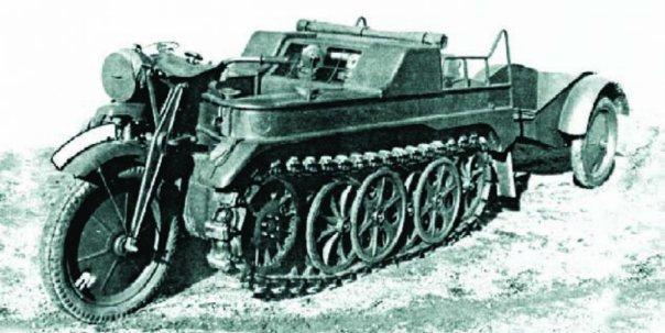 1943 NSU НК-101 (Sd.Kfz.2)