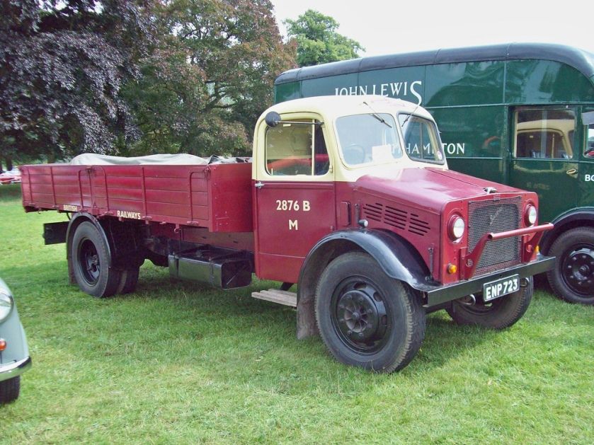 1944 Bedford Flatbed Engine 3519cc