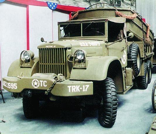 1944 Diamond Т-975А, 6x6