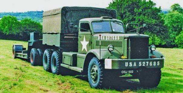 1944 Diamond Т-980 (М20), 6x6