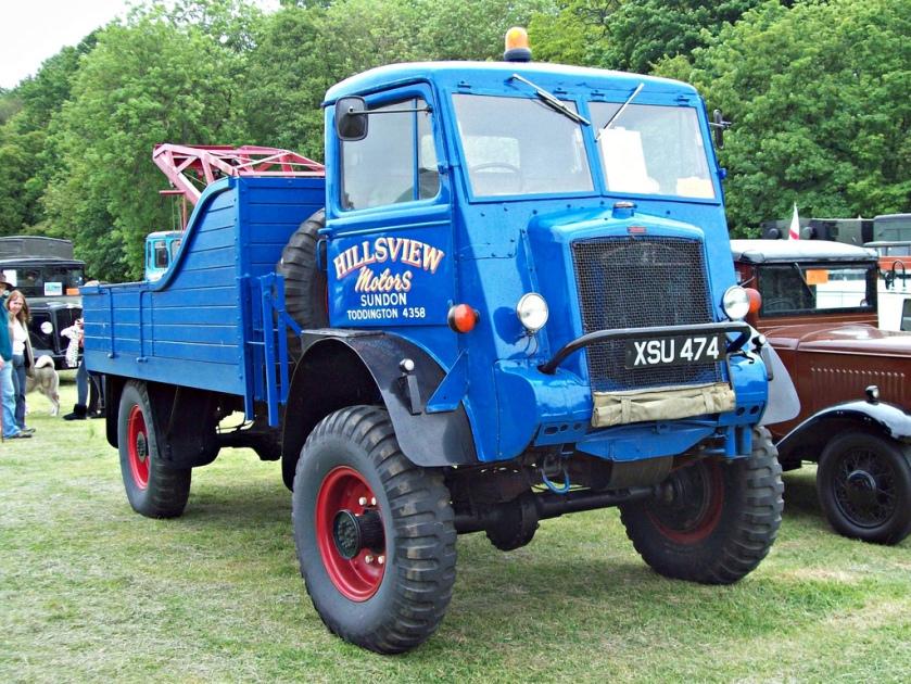 1945 Bedford QL Wrecke