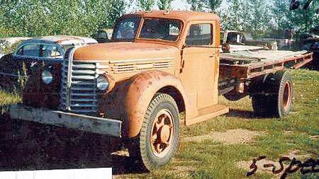 1945 Diamond T 614 speed