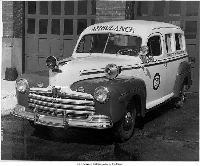 1946 Ford Ambulance a