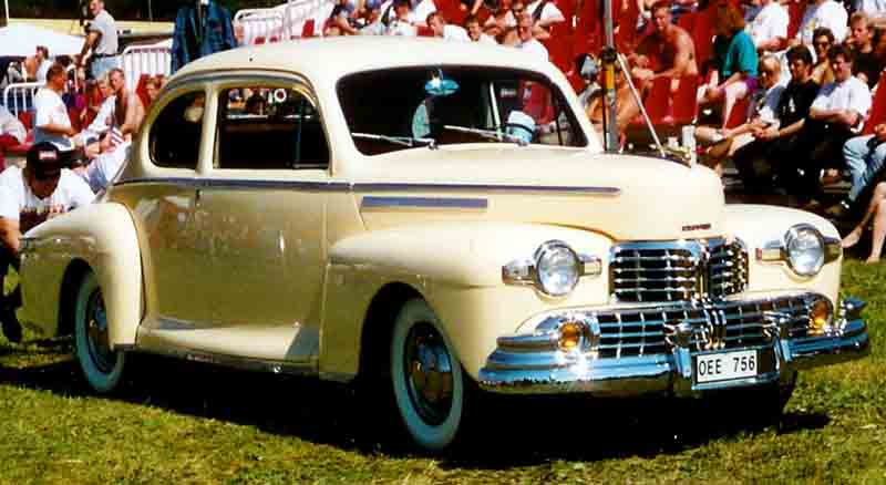 1946 Lincoln coupe