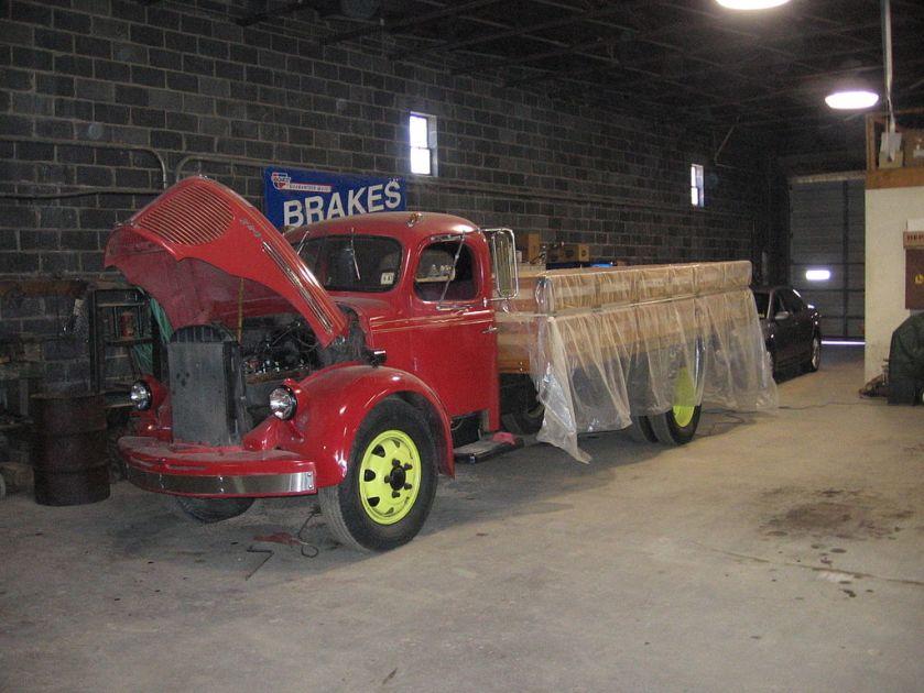 1946 REO truck