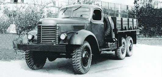 1946 ZIS-151 truck, 6x6