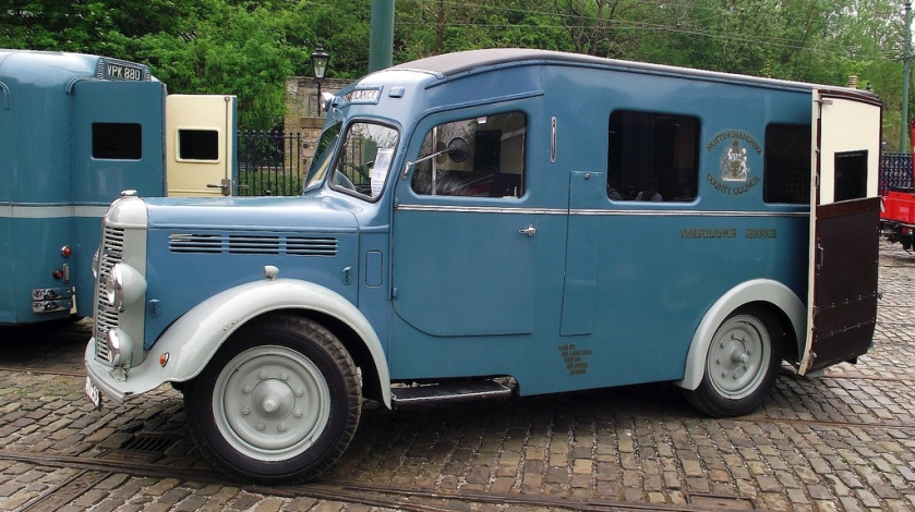 1947 Bedford KZ , Nottinghamshire County Council Ambulance Service