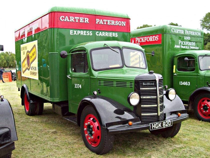 1947 Bedford O Series Parcel Van