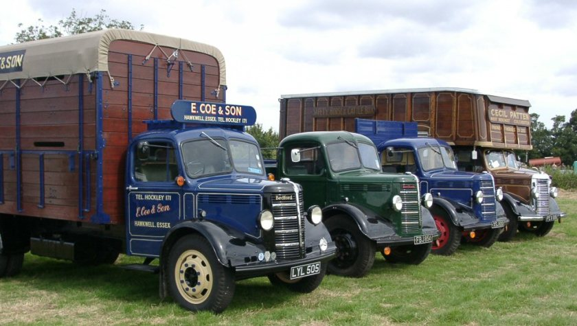 1947 bedford O's