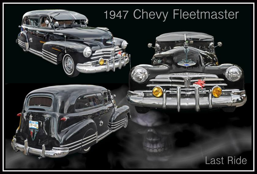 1947 Chevy Fleetmaster Hearse