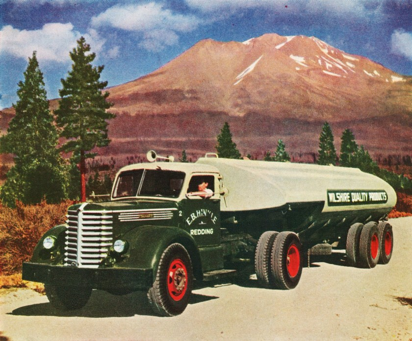 1947 Diamond T Tanker Truck