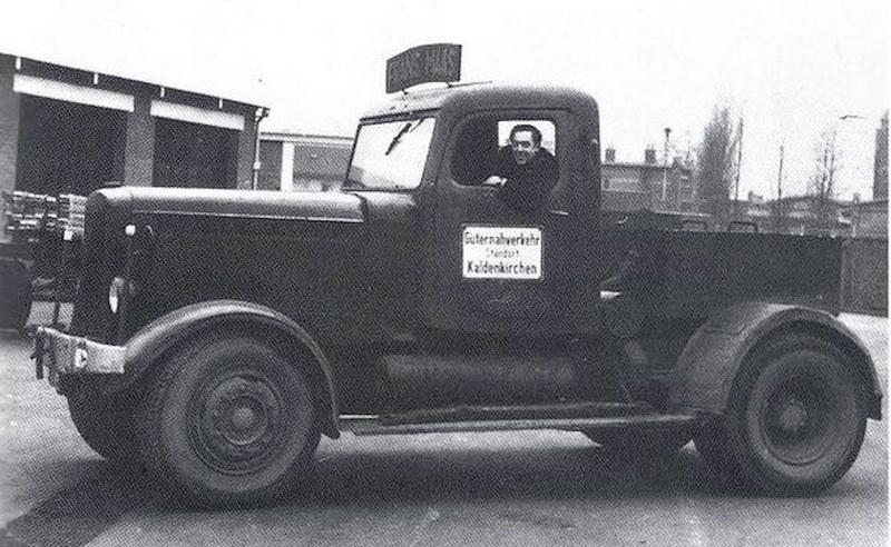 1947 Hanomag SS100