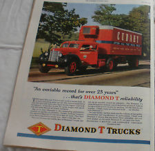 1948 Diamond T ad