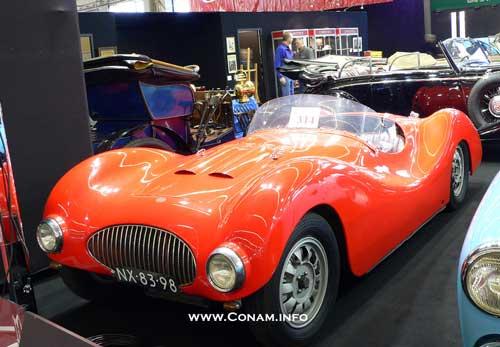 1948 Gatso 1500 Barchetta 'Platje' werd geveild door Christie´s tijdens Retromobile in Parijs, februari 2007 NL