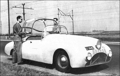 1948 Gatso 4000 (2 Roadster and 2 Coupe) a