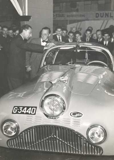 1948 Gatso 4000 Aero Coupé, Built 1 piece b