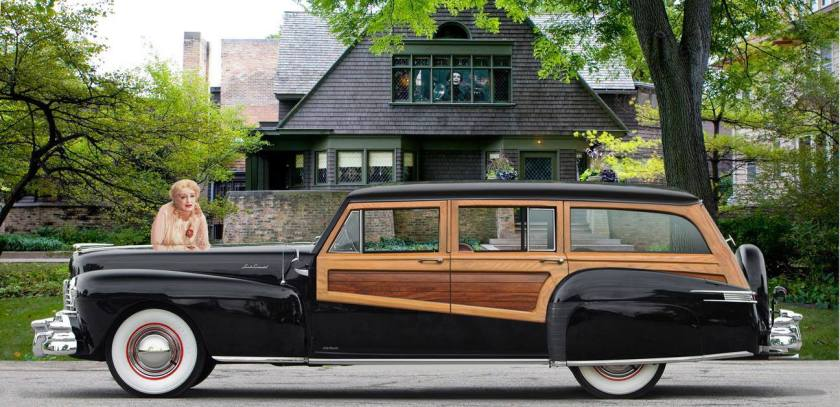 1948 Lincoln Continental Woody Station Wagon