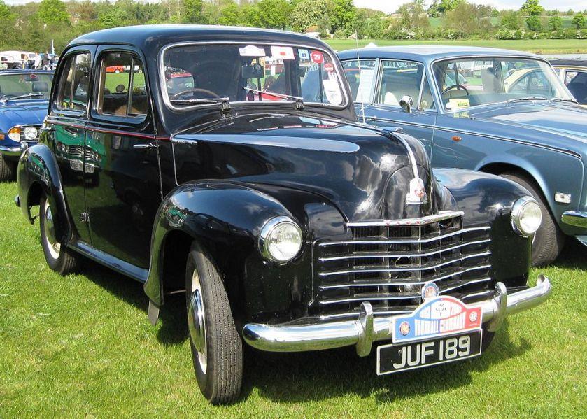 1948 Vauxhall Six reg Nov 1948 2275cc
