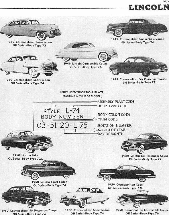 1949-50 Lincoln ad