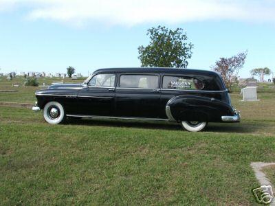 1949 Chevy Barnett Hearse Limousine Style