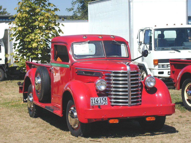 1949 DIAMOND T Pick Up 201