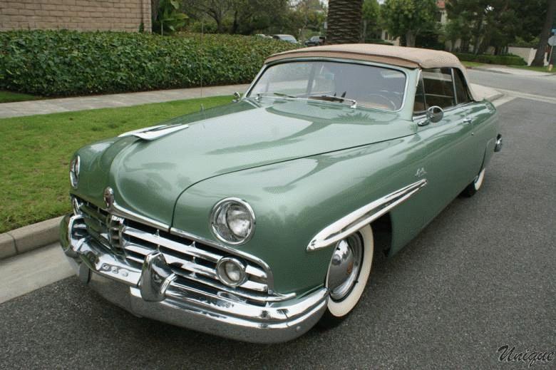1949 Lincoln Cosmpolitan Convertible