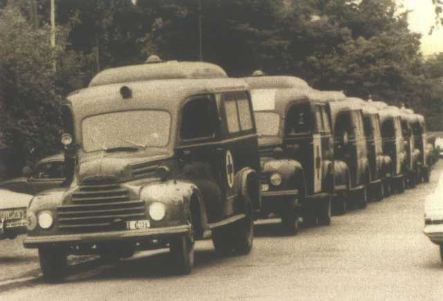1950 ford legerambulances
