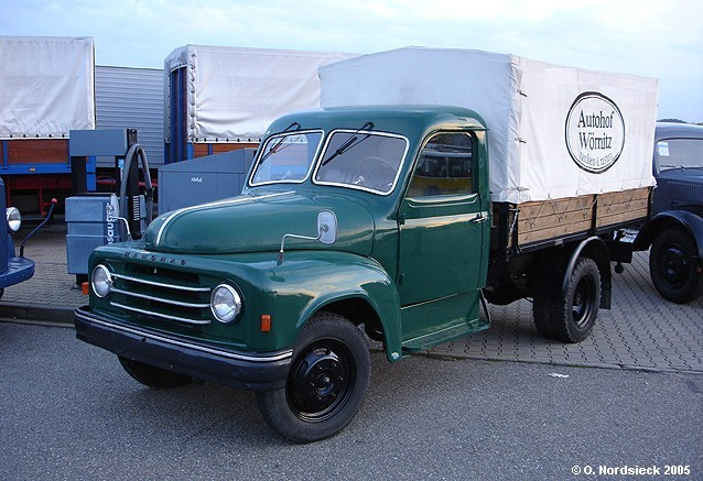 1950 Hanomag L 28 Pritsche