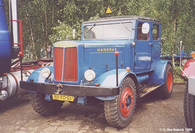 1950 Hanomag ST 100 Straßen-Zugmaschine