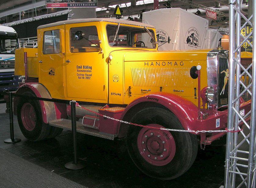 1950 Hanomag ST 100