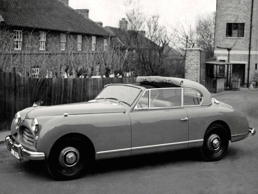 1950 Jensen Interceptor convertible