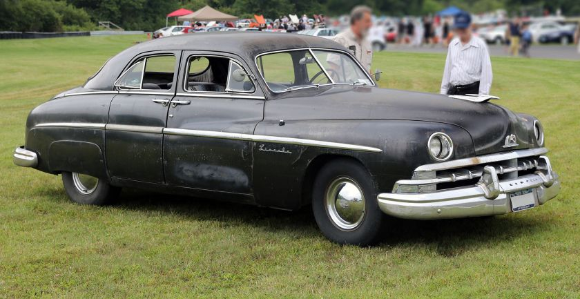 1950 Lincoln four-door sedan