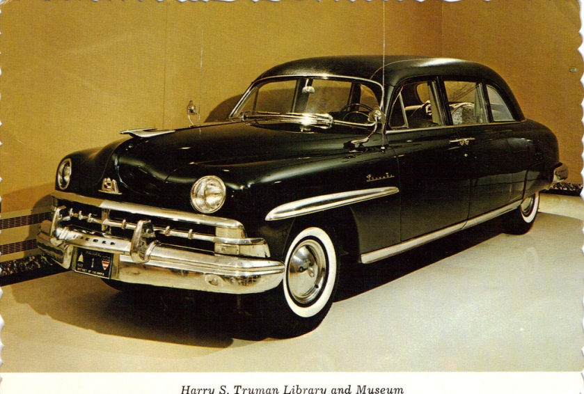 1950 Lincoln Presidential Car - Harry S Truman