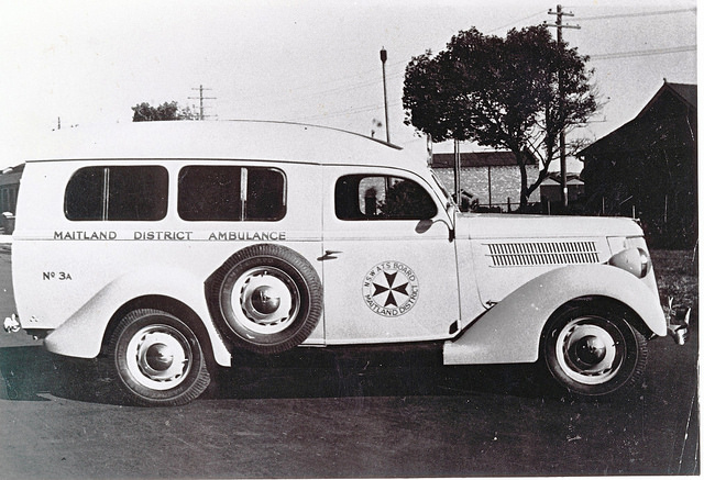 1950 Maitland Ambulance Service, 1950 Ford