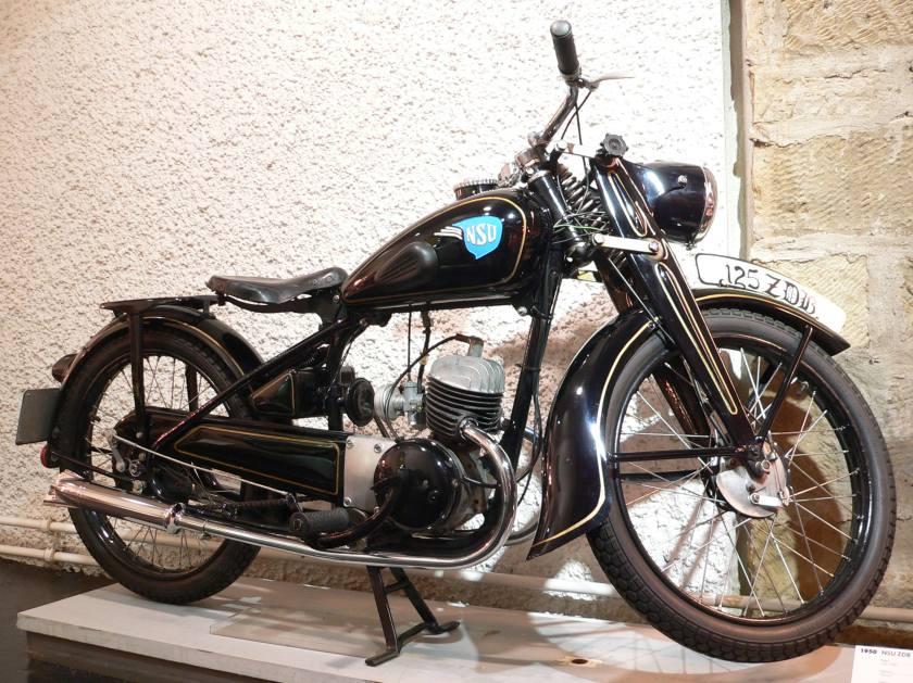 1950 NSU-125-ZDB