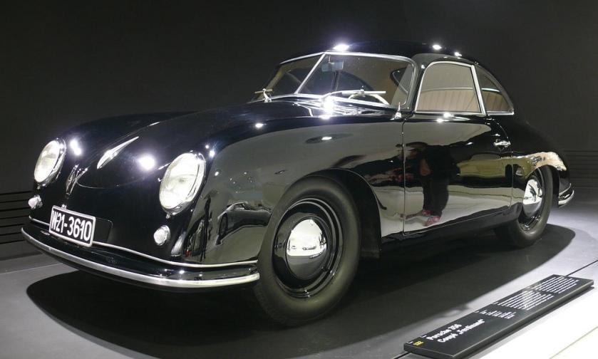 1950 Porsche 356 Coupe Ferdinand Black vl