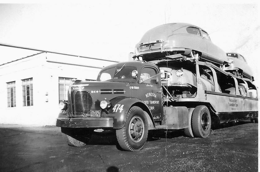 1950 REO, KAT Nash load