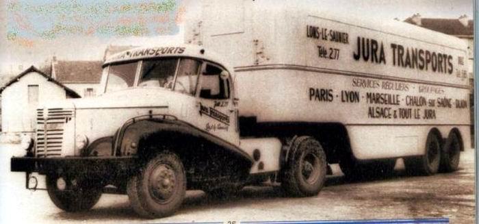 1950 ROCHET SCHNEIDER RS 485 Ajax tracteur des Trps JURA TRANSPORTS