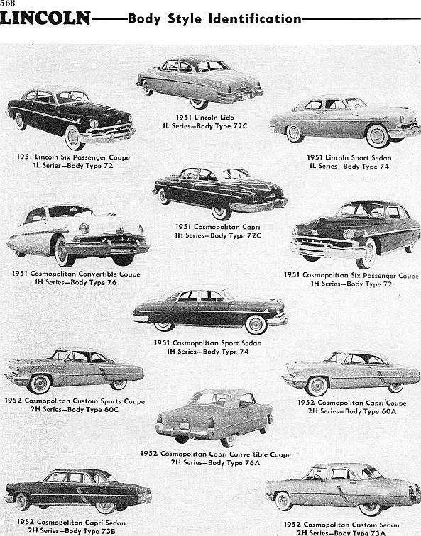 1951-52 Lincoln ad