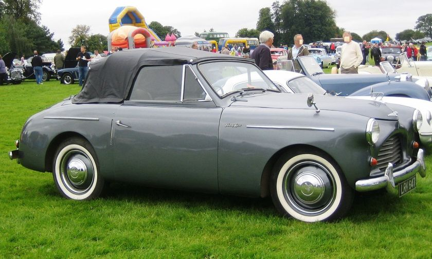 1951 Austin A40 Sports designed by Eric Neale (of Jensen) and manufactured in conjunction with Jensen Motors