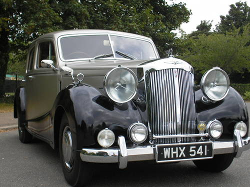 1951 AUSTIN SHEERLINE WITH POWER STEERING SOLD